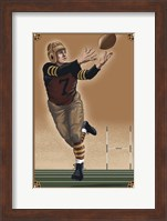 Vintage Football 2 Fine Art Print