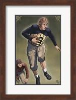 Vintage Football 3 Fine Art Print