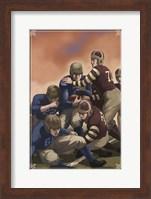 Vintage Football 4 Fine Art Print