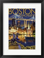 Boston MA Fine Art Print