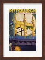 Pittsburgh PA Fine Art Print