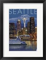 Seattle Night Fine Art Print