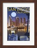 San Diego Night Fine Art Print