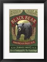 Black Bear Pale Ale Fine Art Print