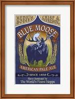 Blue Moose Pale Ale Fine Art Print