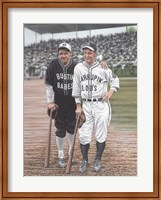 Babe Ruth and Lou Gehrig Fine Art Print