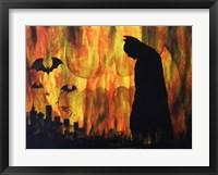Dark Night over the City Fine Art Print