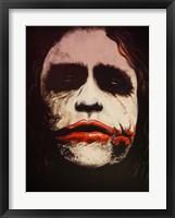 Joker Why So Serious? Fine Art Print