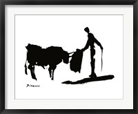 The Bull Fight Fine Art Print