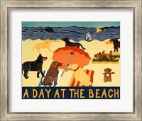 A Day At The Beach Fine Art Print