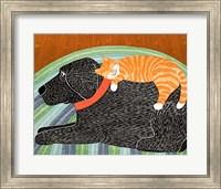 Catnap Striped no Bubble Fine Art Print