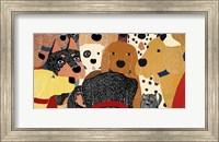 Dog Meeting Fine Art Print
