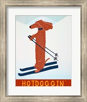 Hotdoggin Red Fine Art Print