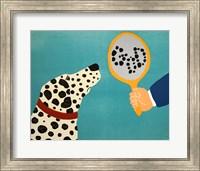 Mirror Image Of Dog Fine Art Print