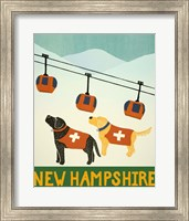 New Hampshire Ski Patrol Fine Art Print