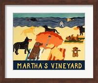 Ocean Ave Martha's Vineyard Fine Art Print