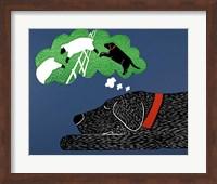 Sleep Black Fine Art Print