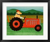 The Tractor Fine Art Print