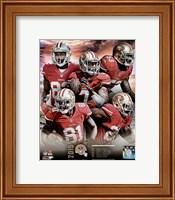 San Francisco 49ers 2015 Team Composite Fine Art Print