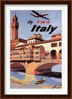 Fly To Italy Fine Art Print