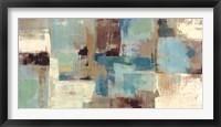Teal and Aqua Reflections v2 Fine Art Print