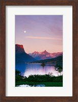 Saint Mary's Lake Fine Art Print