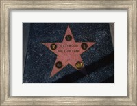 Hollywood Walk of Fame Star, Los Angeles, CA Fine Art Print
