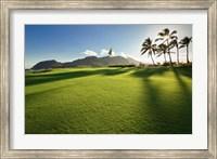 Golf Course, Kauai Lagoons, Kauai, Hawaii Fine Art Print