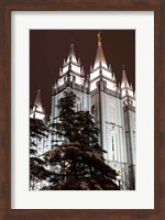 Mormon Temple, Salt Lake City, Utah Fine Art Print