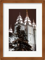 Mormon Temple, Salt Lake City, Utah Fine Art Print
