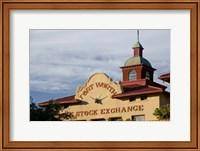 Fort Worth Livestock Exchange, Fort Worth, Texas Fine Art Print