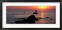 La Vieille Lighthouse, Finistere, Brittany, France Fine Art Print