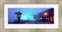 Mount Taishan, Shandong Province, China Fine Art Print