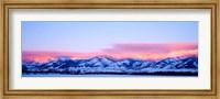 Bridger Mountains Sunset, Montana Fine Art Print
