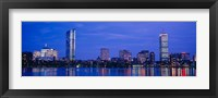 Skyline, Boston, Massachusetts Fine Art Print