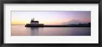 Lighthouse At The Waterfront, Duluth, Minnesota Fine Art Print