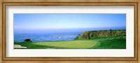 Pebble Beach Golf Course, Monterey County, California Fine Art Print