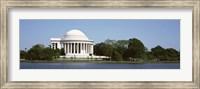 Jefferson Memorial, Washington DC (pano) Fine Art Print
