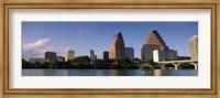 Waterfront Buildings in Austin, Texas Fine Art Print