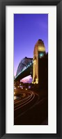 Australia, Sydney, Harbor Bridge (vertical) Fine Art Print