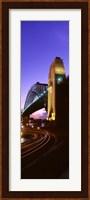 Australia, Sydney, Harbor Bridge (vertical) Fine Art Print