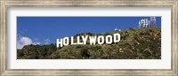 Hollywood Hills Sign, Los Angeles, California Fine Art Print
