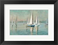 Sailboats at Sunrise Fine Art Print