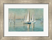 Sailboats at Sunrise Fine Art Print