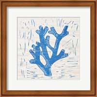 Sea Creature Coral Blue Fine Art Print
