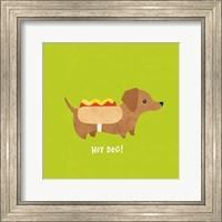 Good Dogs Dachshund Bright Fine Art Print
