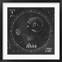 Night Sky Aries Fine Art Print