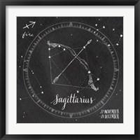 Night Sky Sagittarius. Fine Art Print