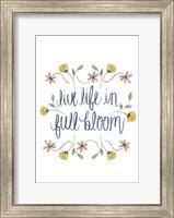 Flowers by Grace IV Fine Art Print