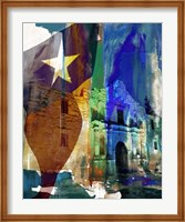 Alamo Flag Fine Art Print